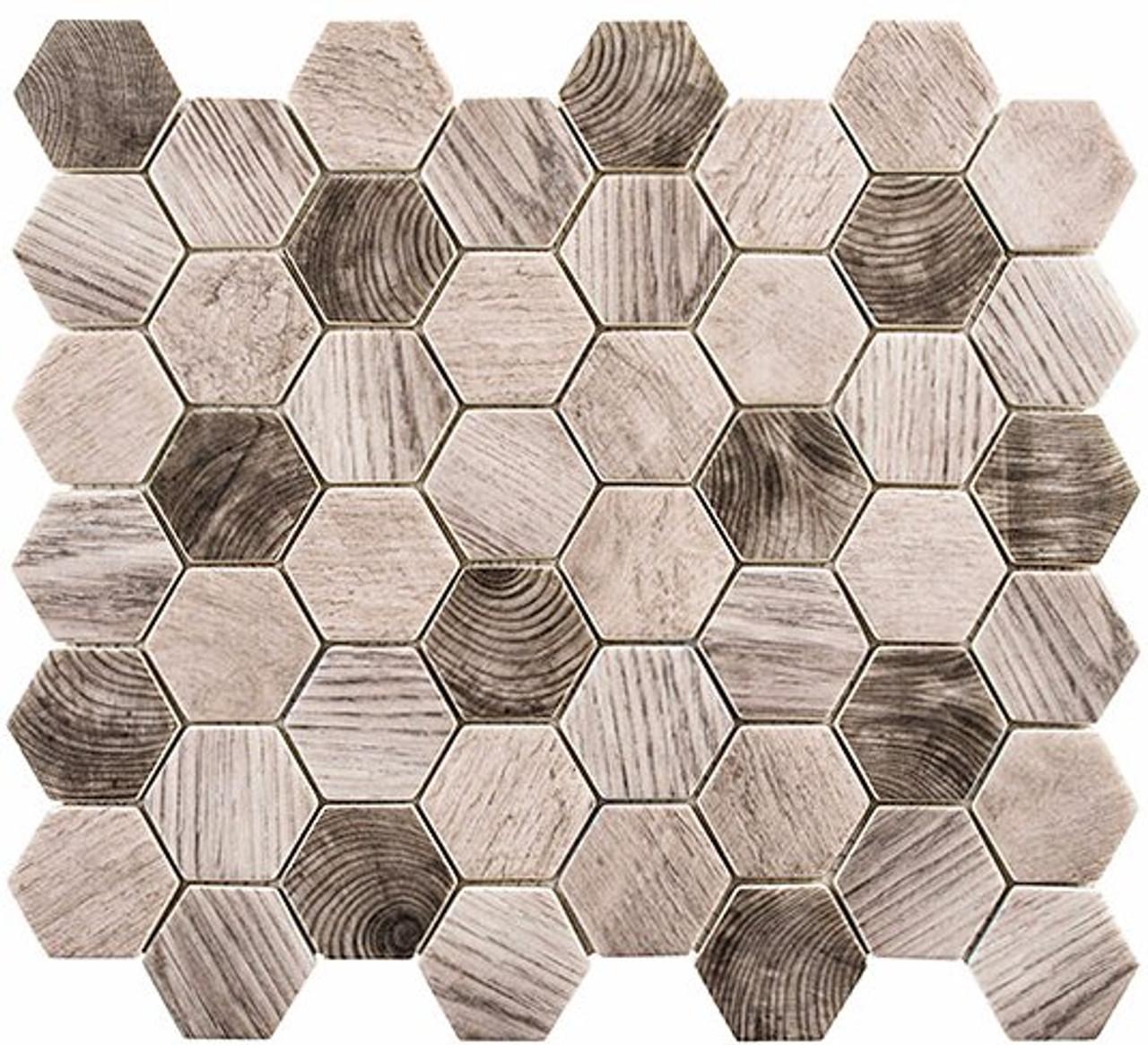 Bella Glass Tiles Woodland Series Evening Beach