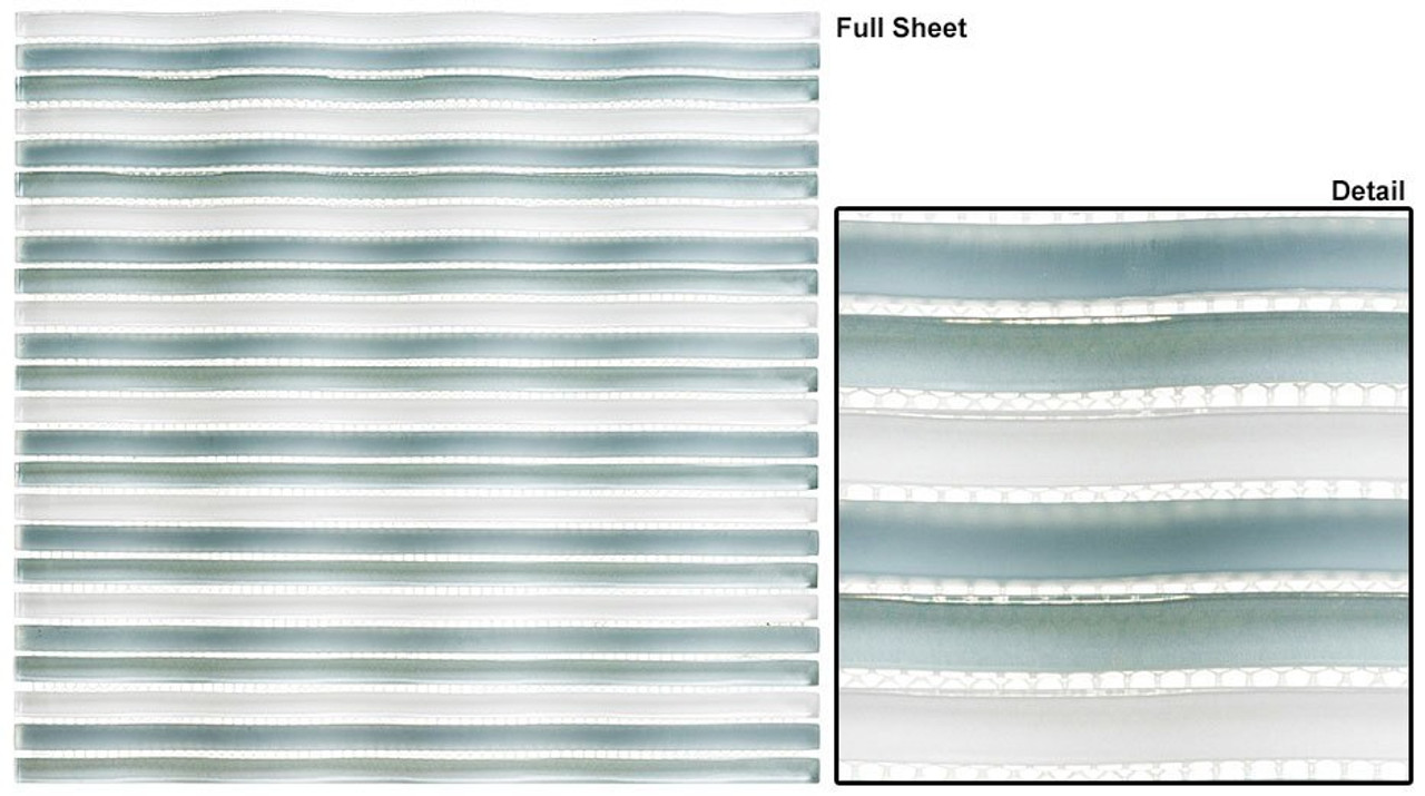 Bella Glass Tiles Rolling Surf Olympic Pool Glass Mosaic Tile