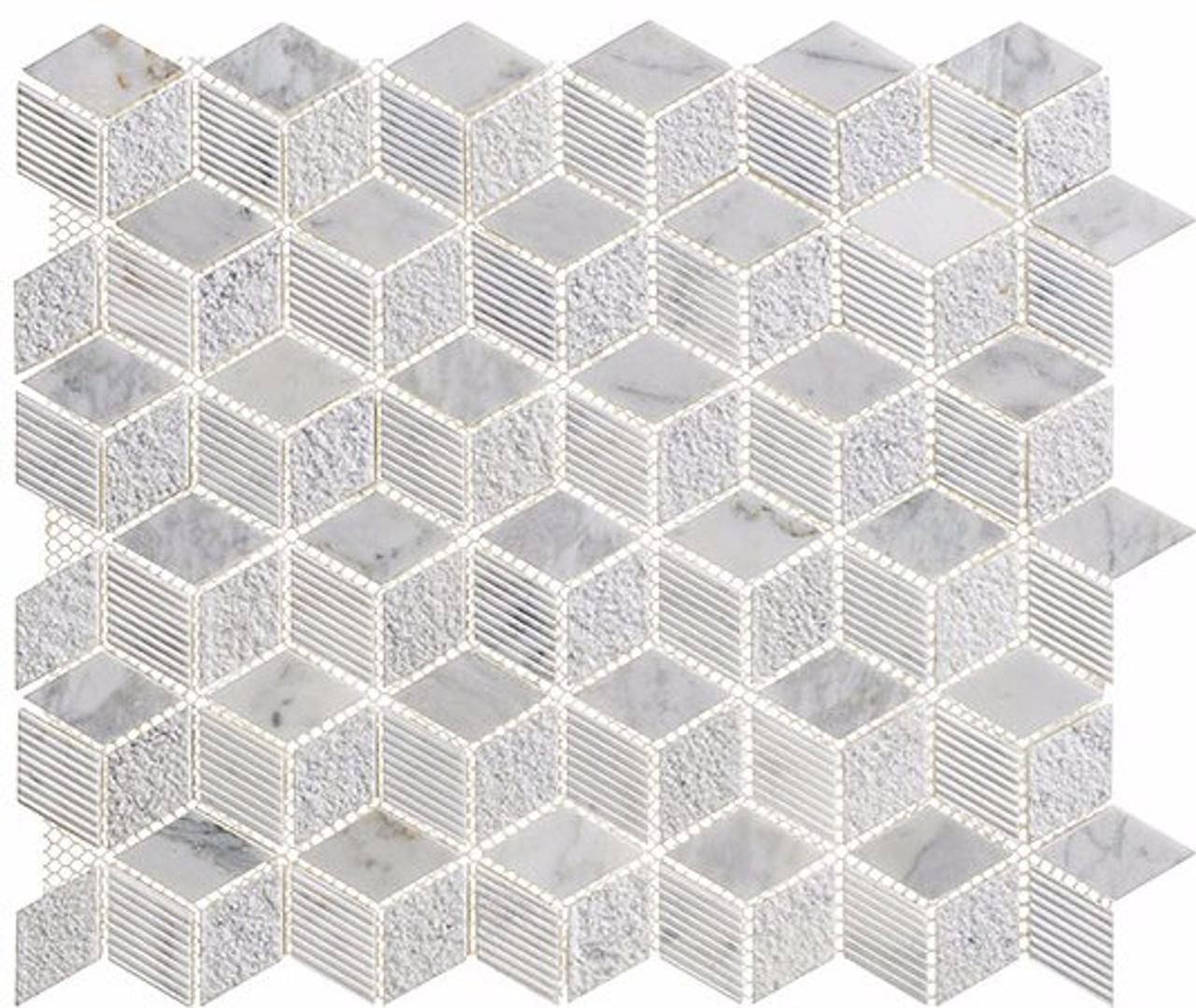 Bella Glass Tiles Arctic Series Siberian Heron