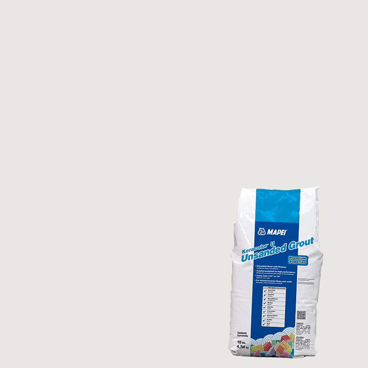 Mapei Mapei Keracolor Unsanded Grout 10 lb Bag - Avalanche