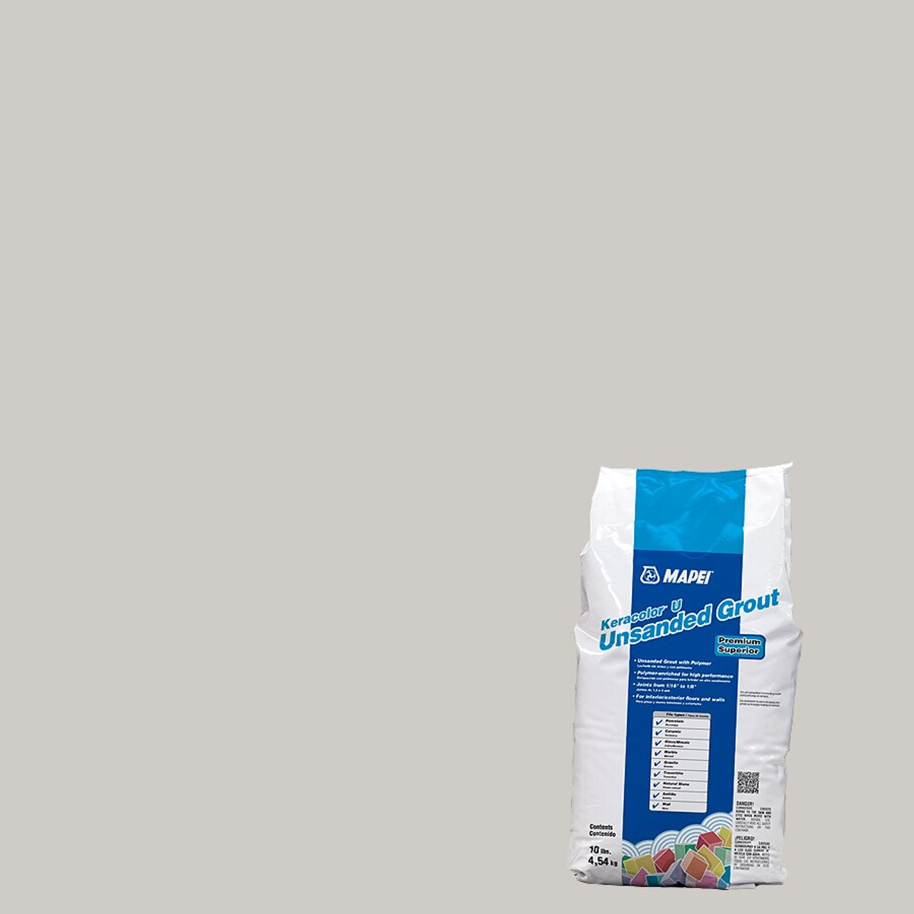 Mapei Mapei Keracolor Unsanded Grout 10 lb Bag - Frost
