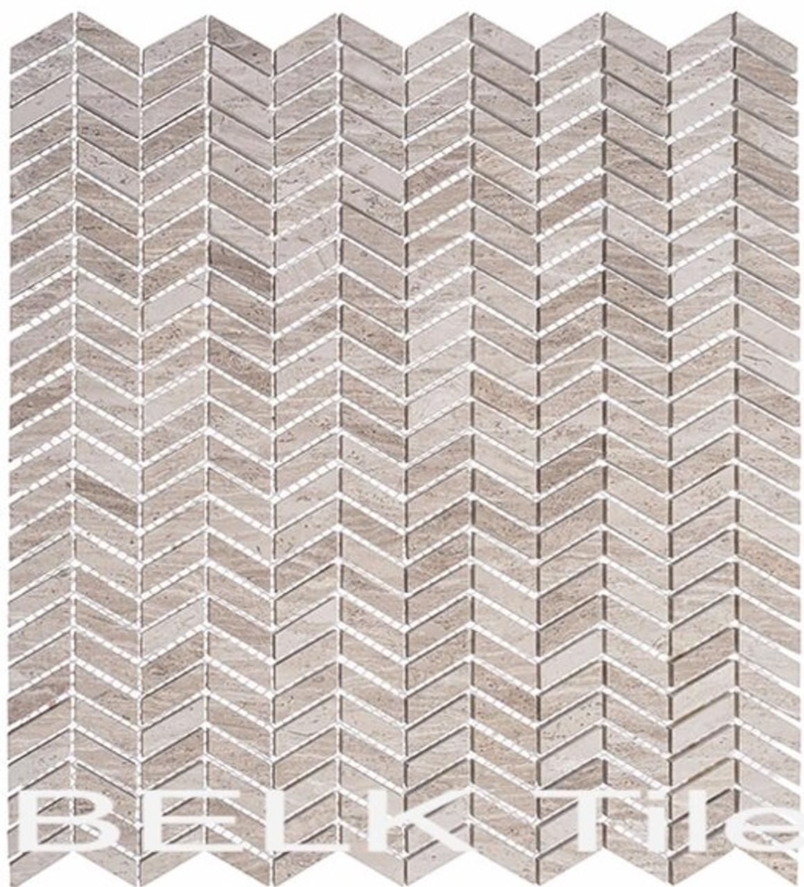 Bella Glass Tiles Covered Bridge River Truss