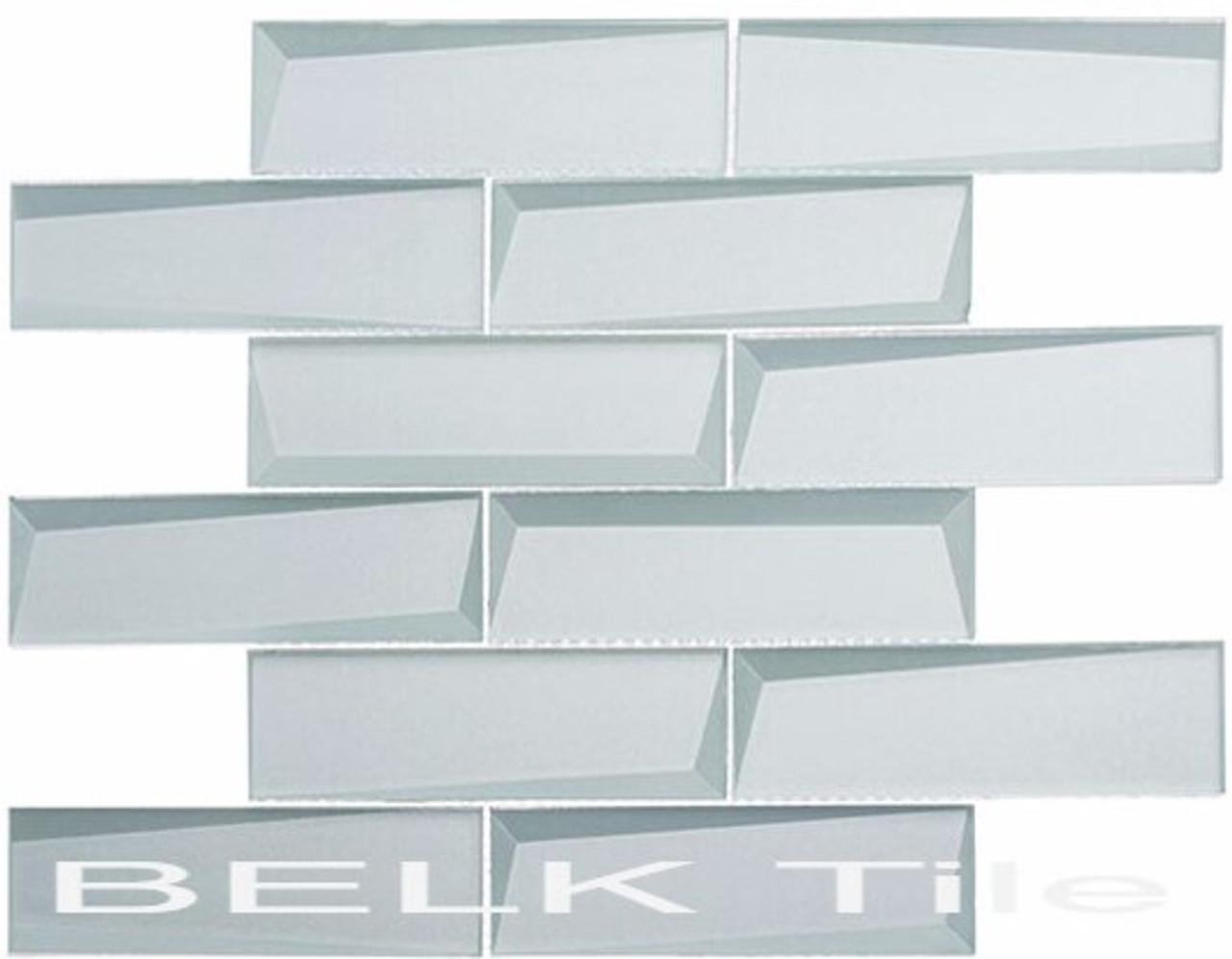 Bella Glass Tiles Scandinavia Icicle Palace Subway Tile