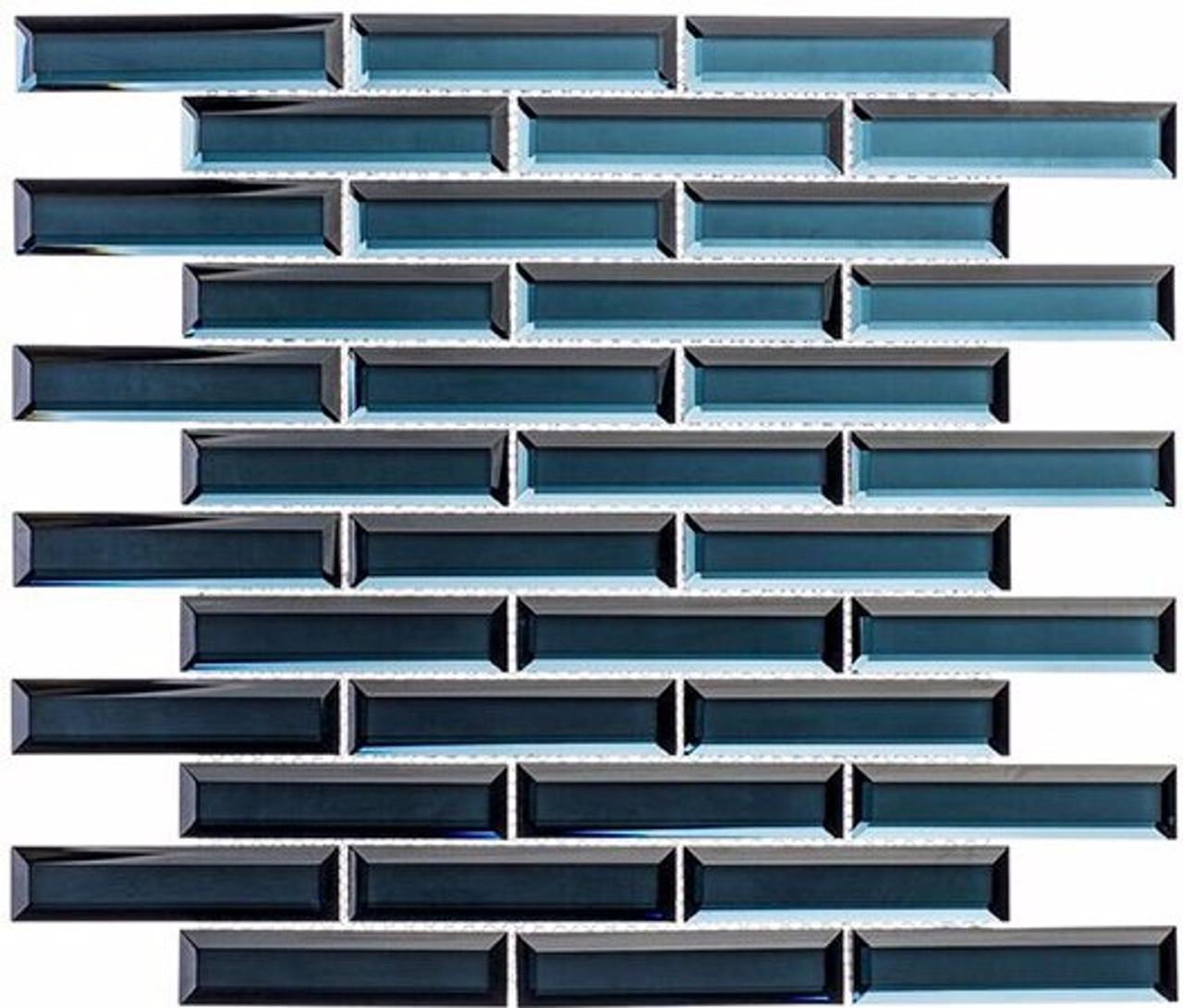 Bella Glass Tiles Mystique Aruba Sparkle 1 x 4