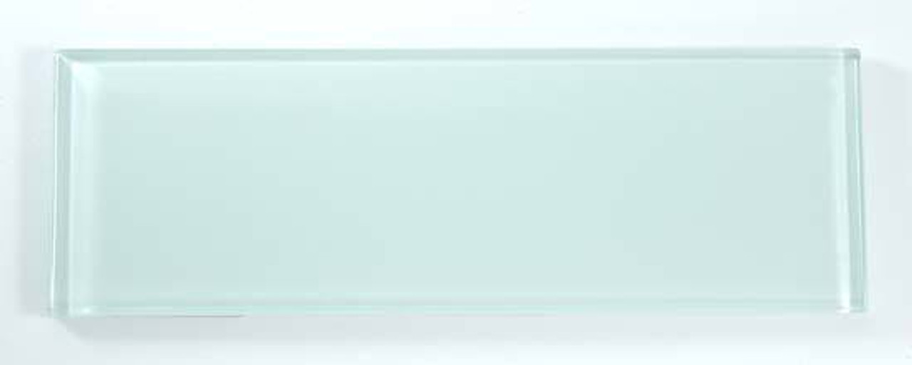 Bella Glass Tiles Bella Glass Tiles C01 4 x 12 Subway Ice Mist Glossy