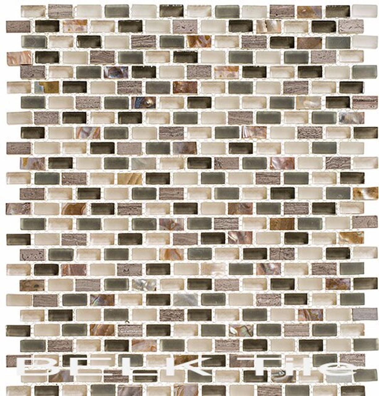 Bella Glass Tiles Americana Series Route 66