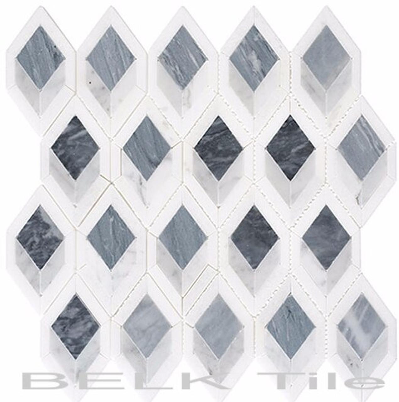 Bella Glass Tiles Ashbury Series Cobolt Avenue AHR-431