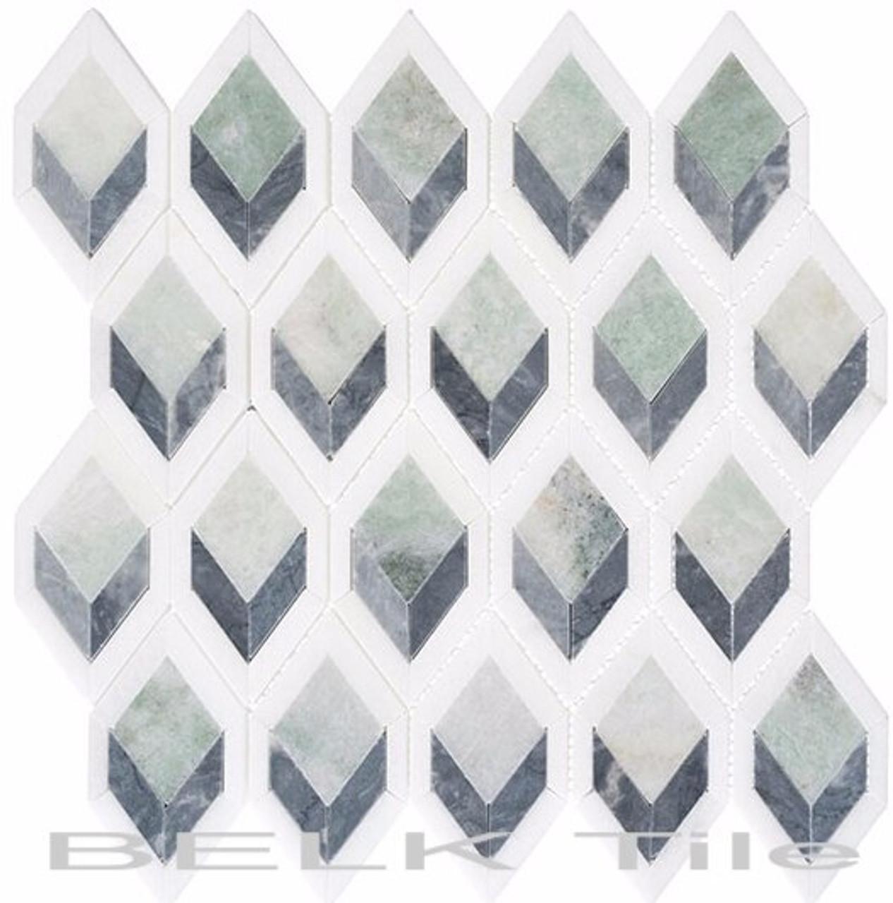 Bella Glass Tiles Ashbury Series Cornflower Way