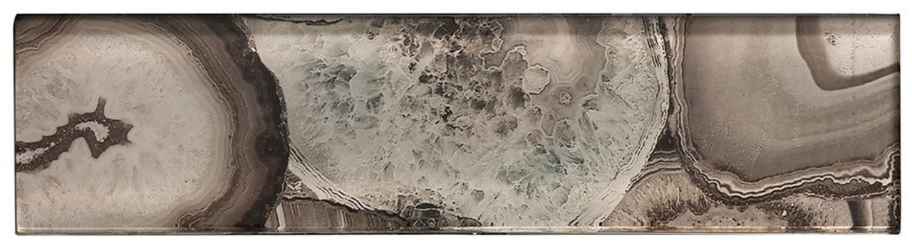 Bella Glass Tiles Magical Forest Champinion Subway Tile