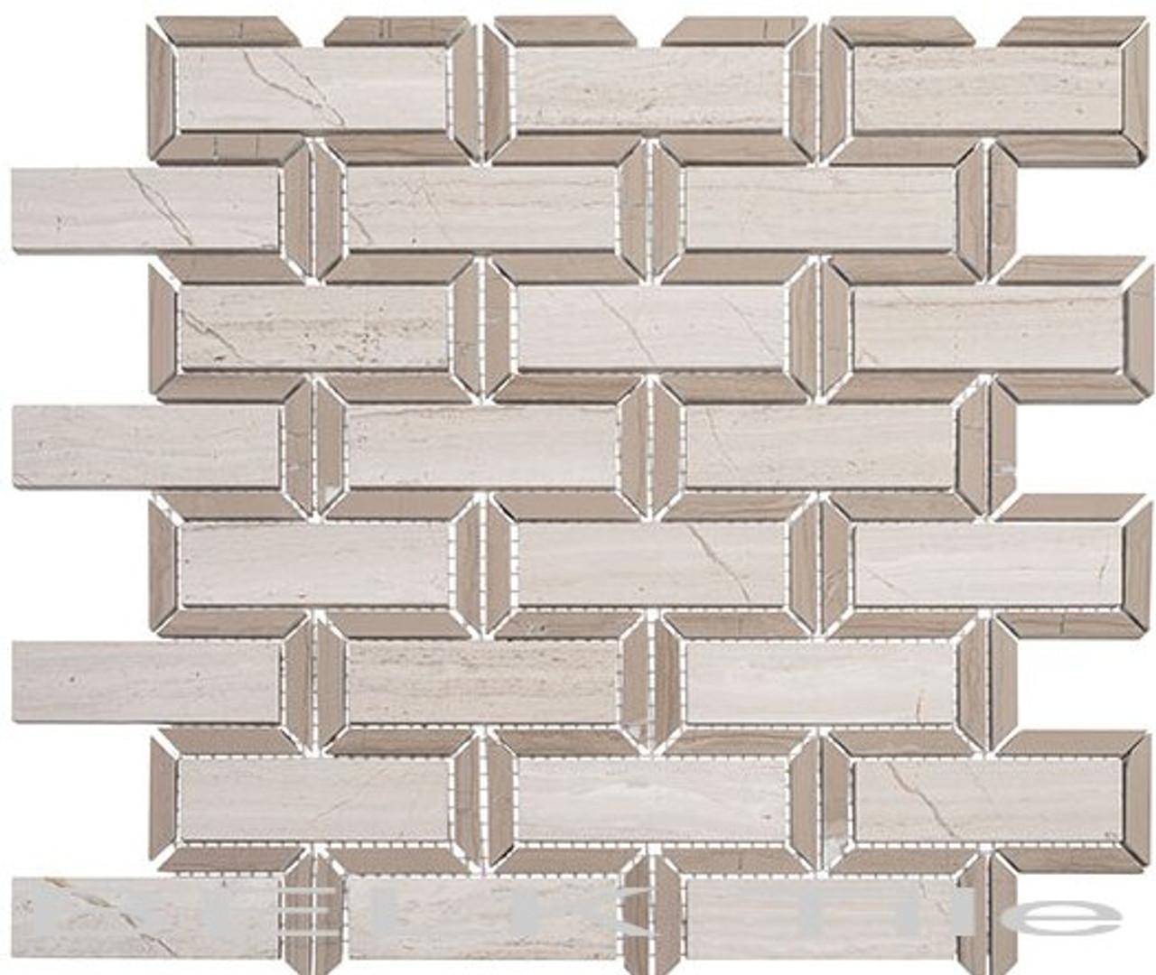 Bella Glass Tiles Colosseum Series Caesar Beige