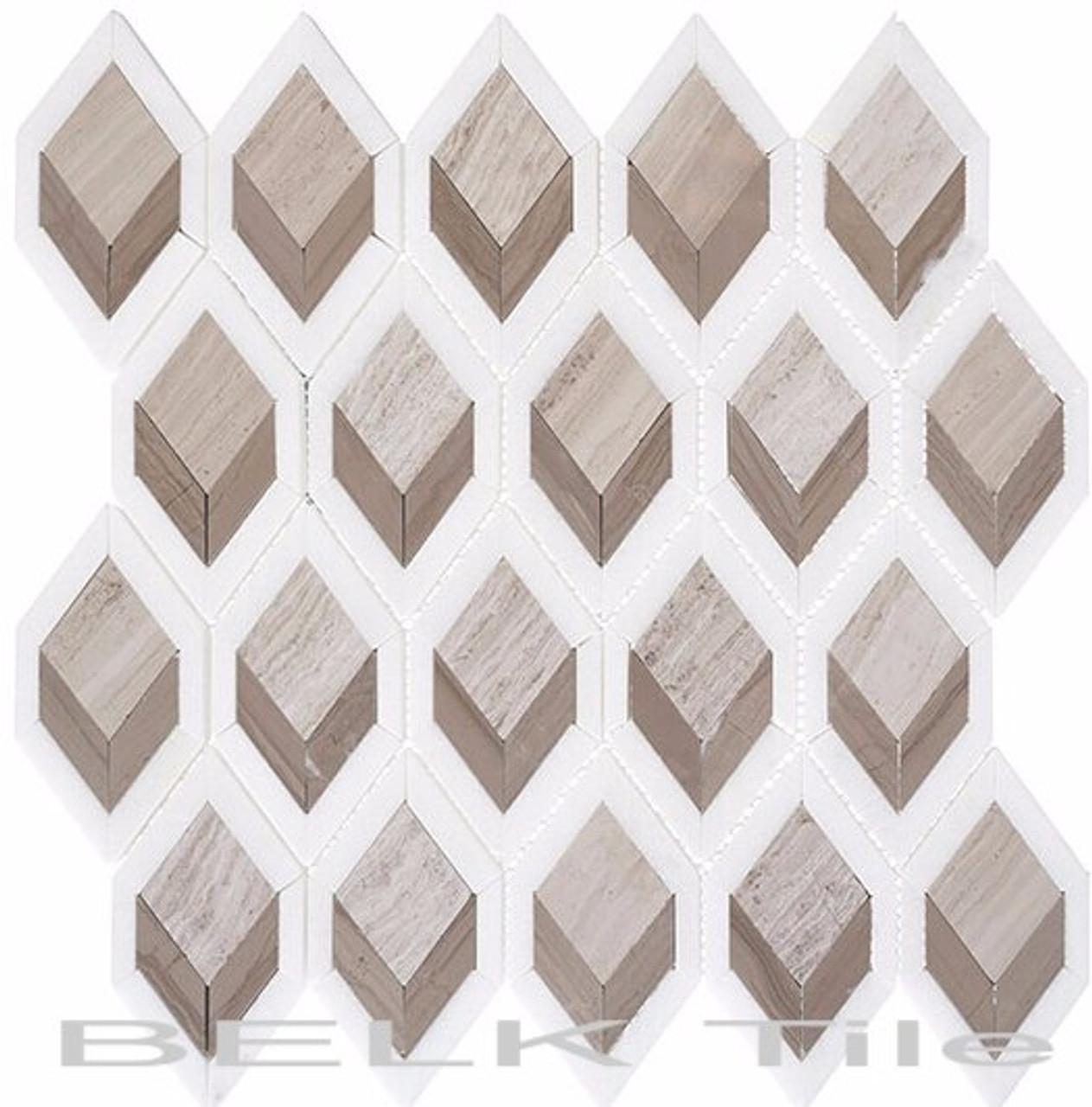 Bella Glass Tiles Ashbury Series Moonlit Passage