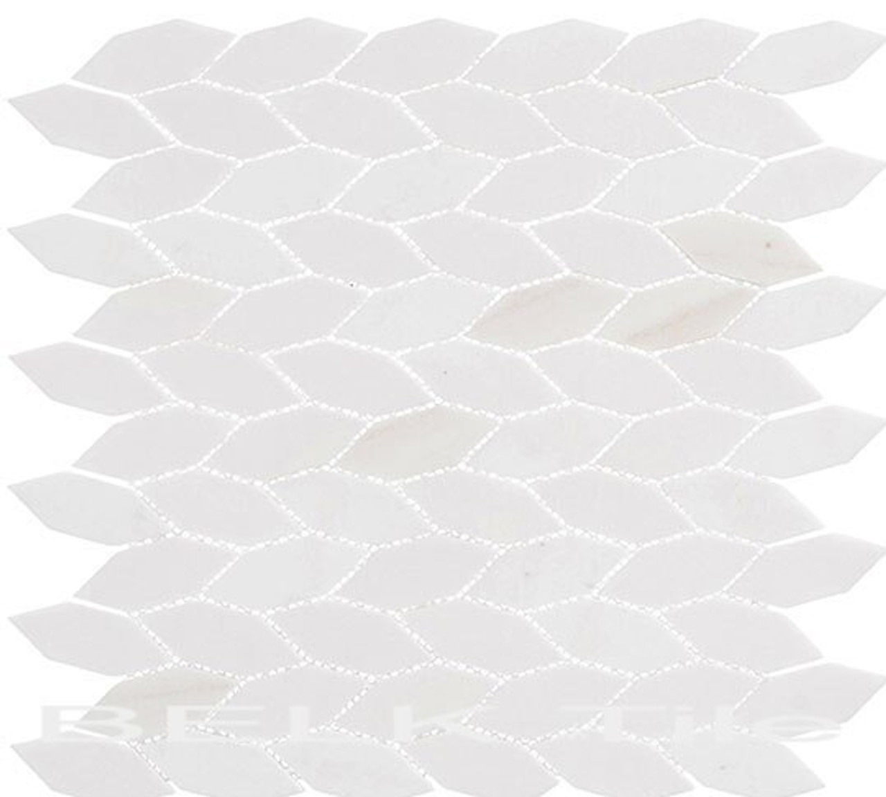 Bella Glass Tiles Colonial Series Long Hex Light Canopy