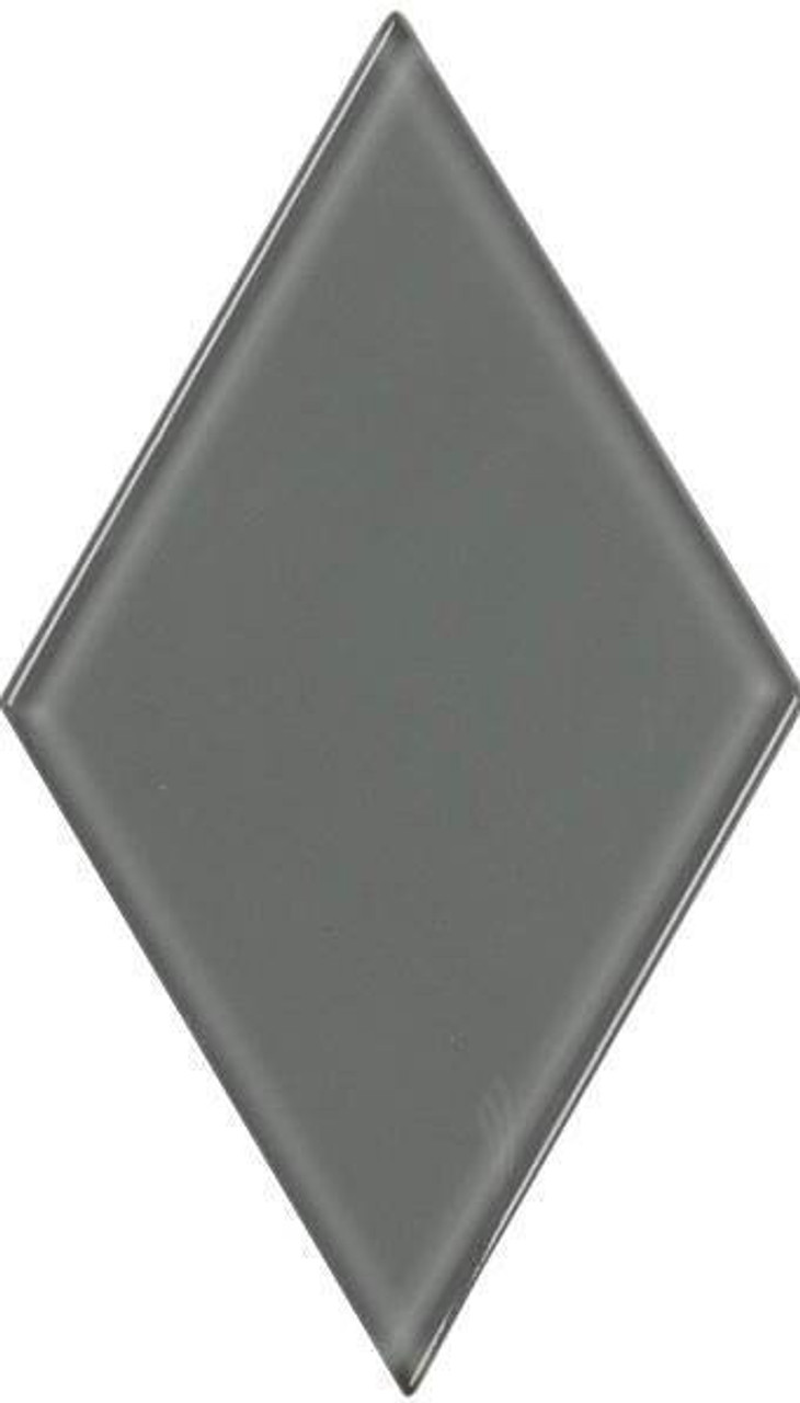 UBC 4.5 inch Glass Diamond Tile Hailstorm