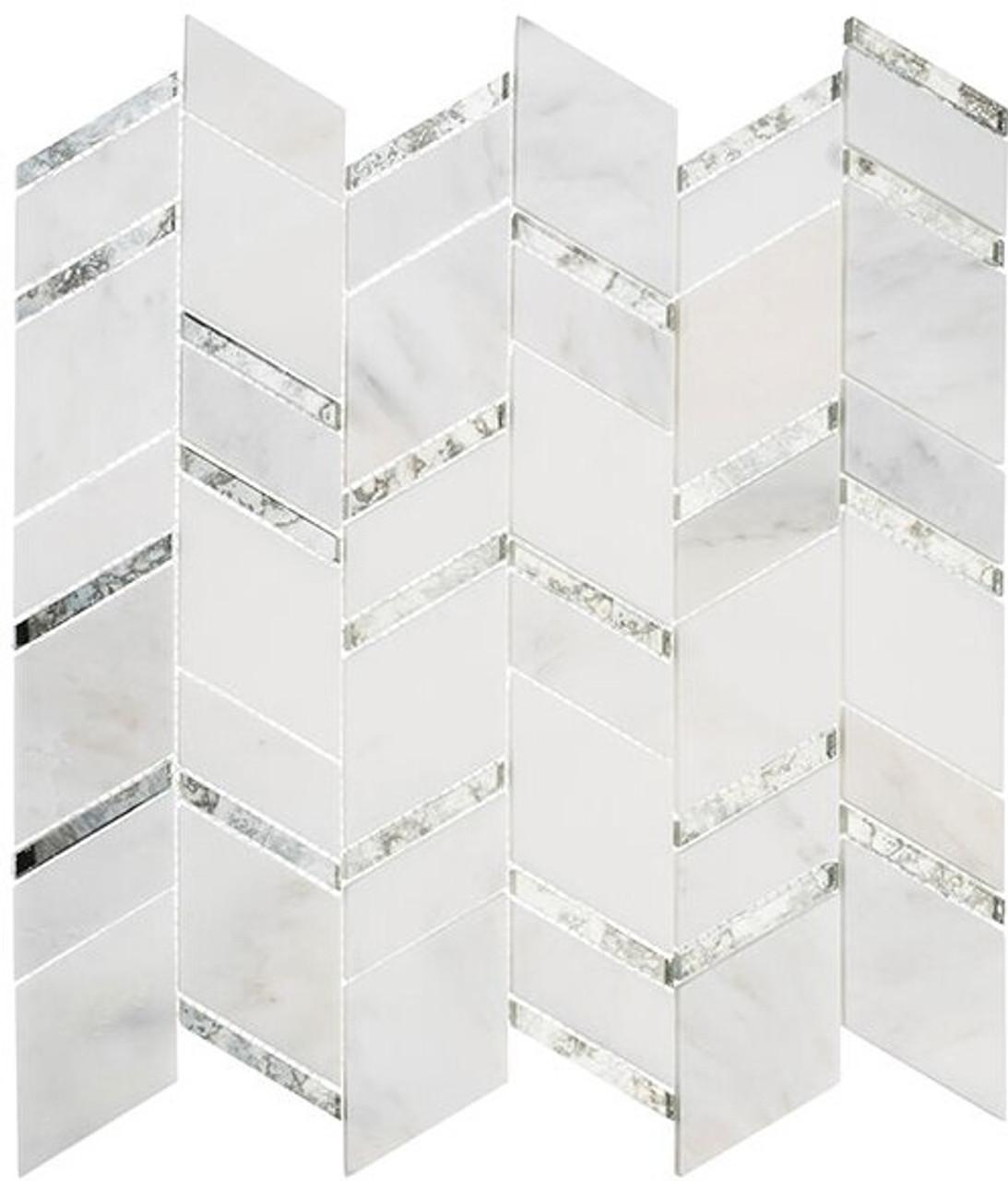 Bella Glass Tiles Urban Butterflies Inner Dawn Stone Mosaic