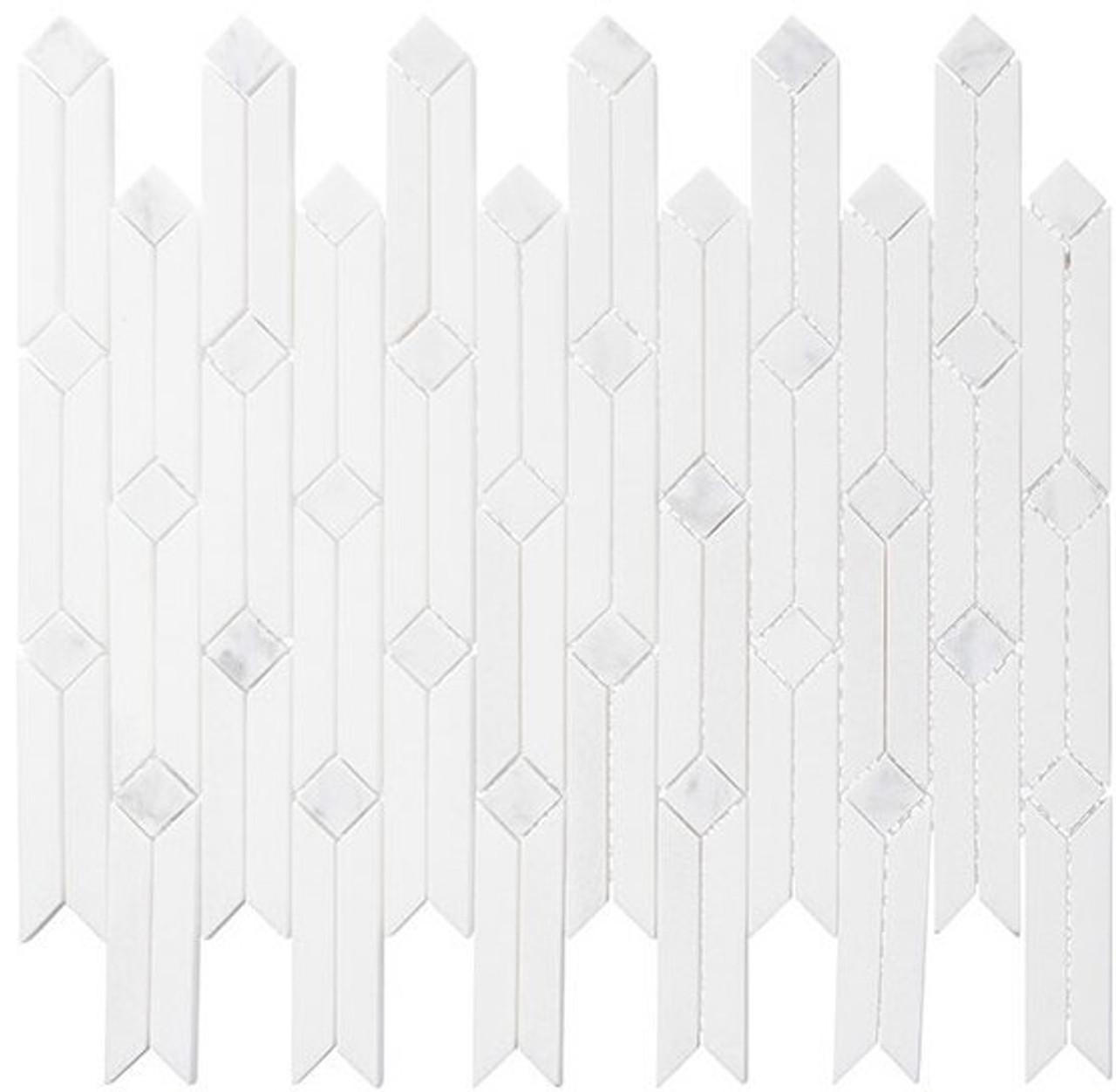 Bella Glass Tiles Starburst Series Opal Way SAR-2452