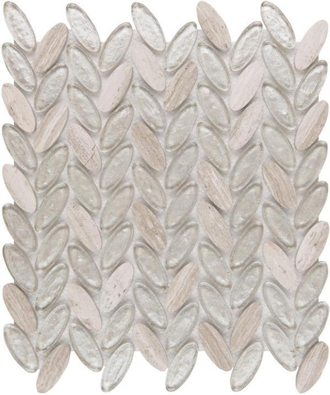 UBC Elyptic Herringbone Tile Bel Air