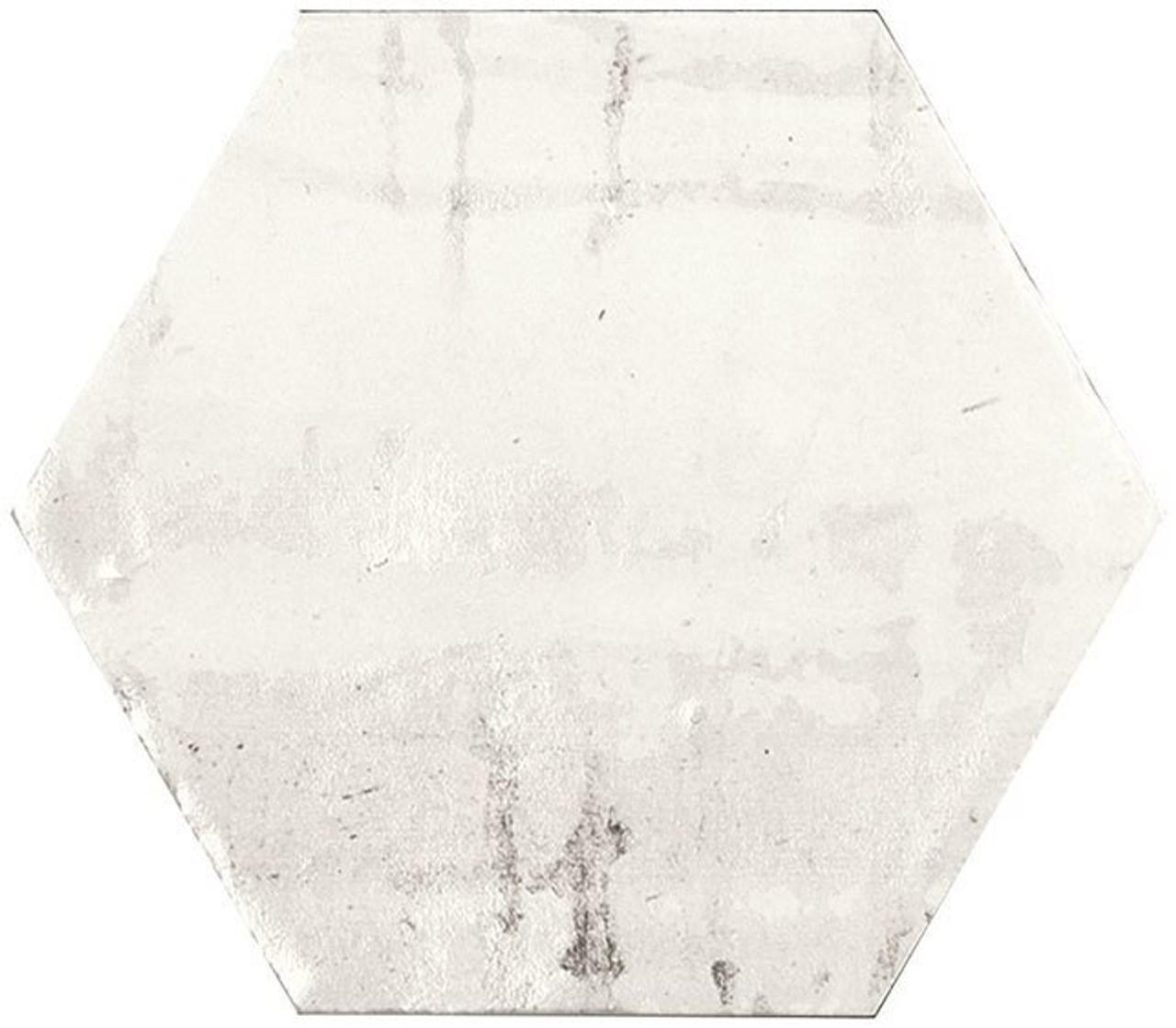 Bella Glass Tiles Princeton Glaze Hexagon Linen Fresh