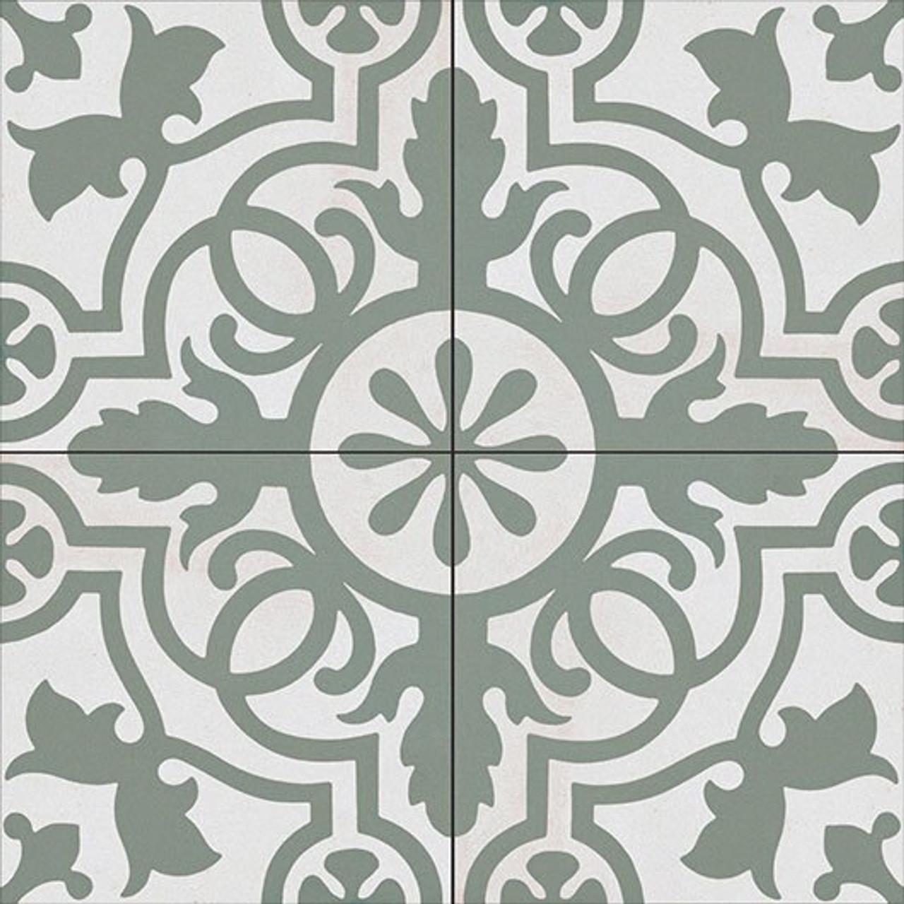 Bella Glass Tiles Amalfi Coast Porcelain Tile Olive Banquet