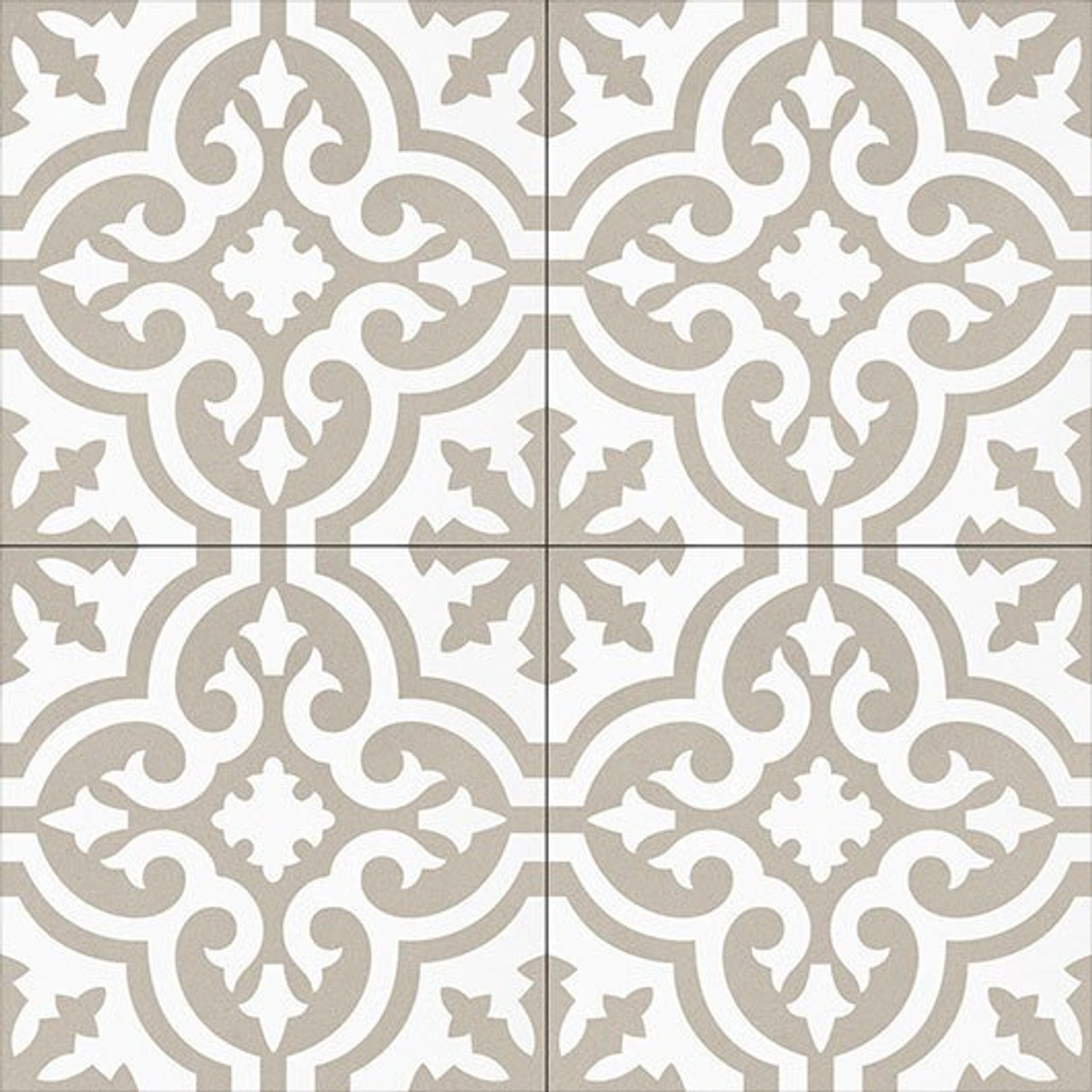 Bella Glass Tiles Amalfi Coast Porcelain Tile Organza Antique