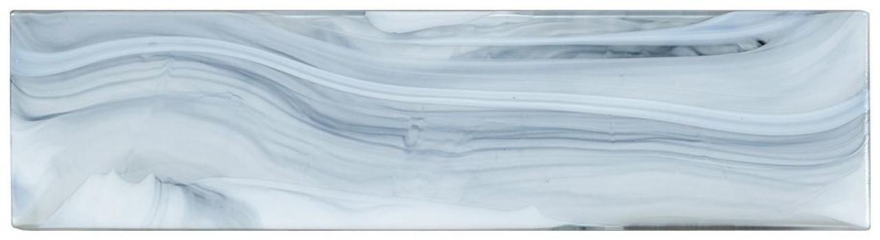 Bella Glass Tiles Elegant Swirl ELS637 Lite Wind