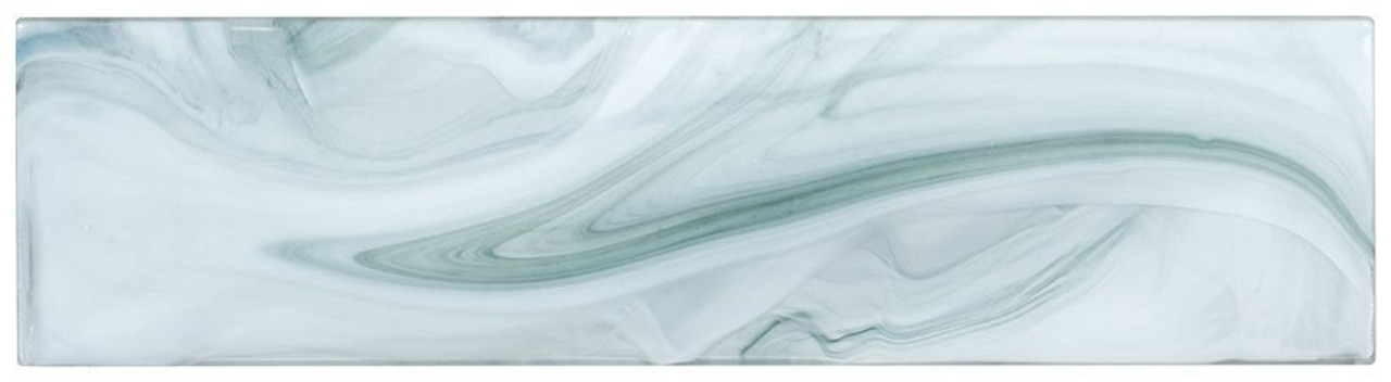 Bella Glass Tiles Elegant Swirl ELS638 DeepSea Current
