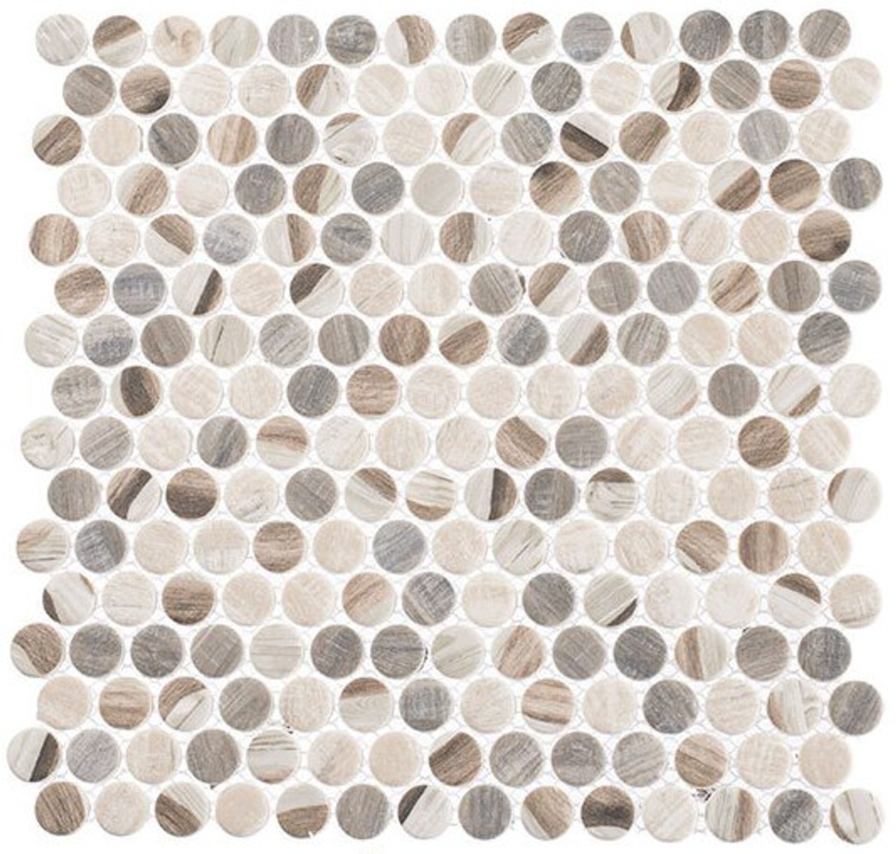 Bella Glass Tiles Pixels Series PX784 Dotted Blend