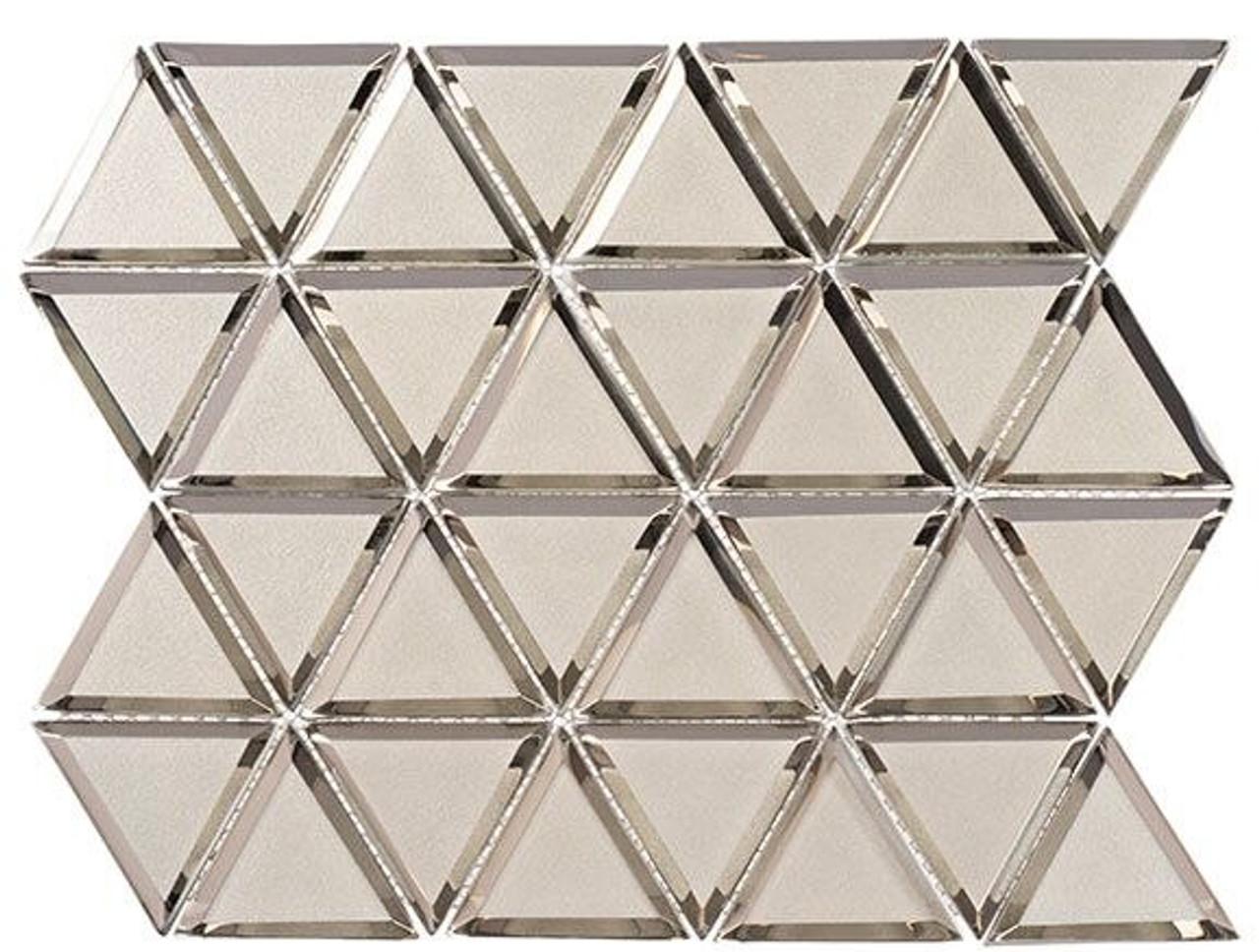Bella Glass Tiles Pinwheel Series PWL811 Halo Fantasy
