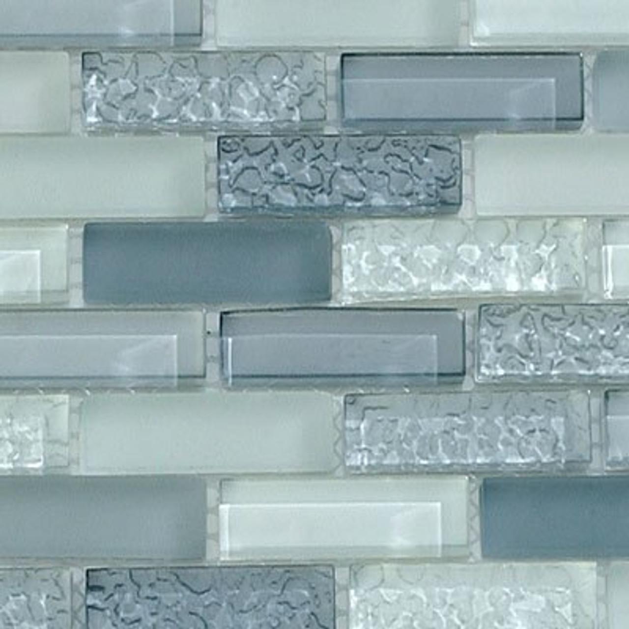Bella Glass Tiles Bella Glass Tiles CB52 Passion Blue Blend