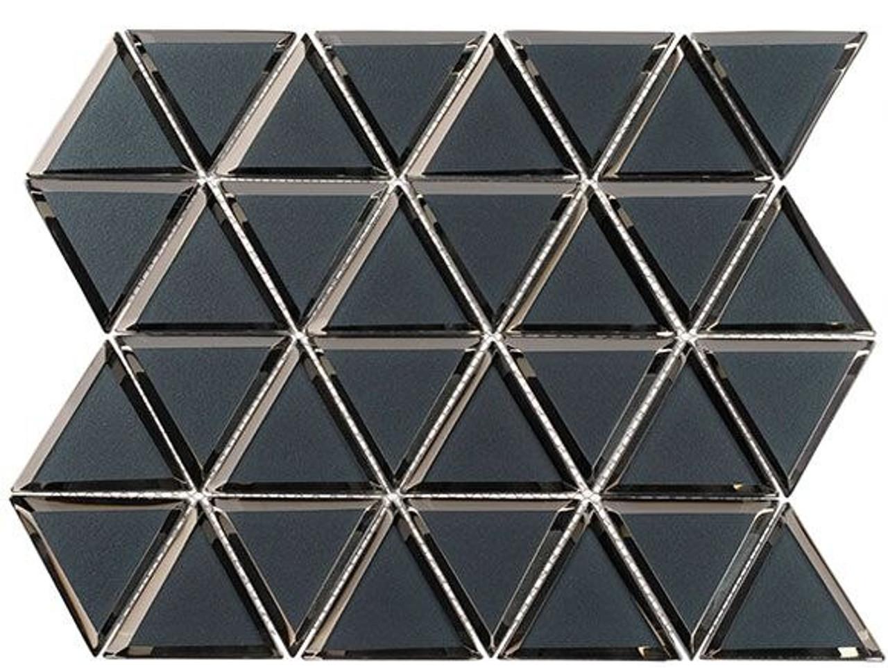 Bella Glass Tiles Pinwheel Series PWL815 Bridgewater