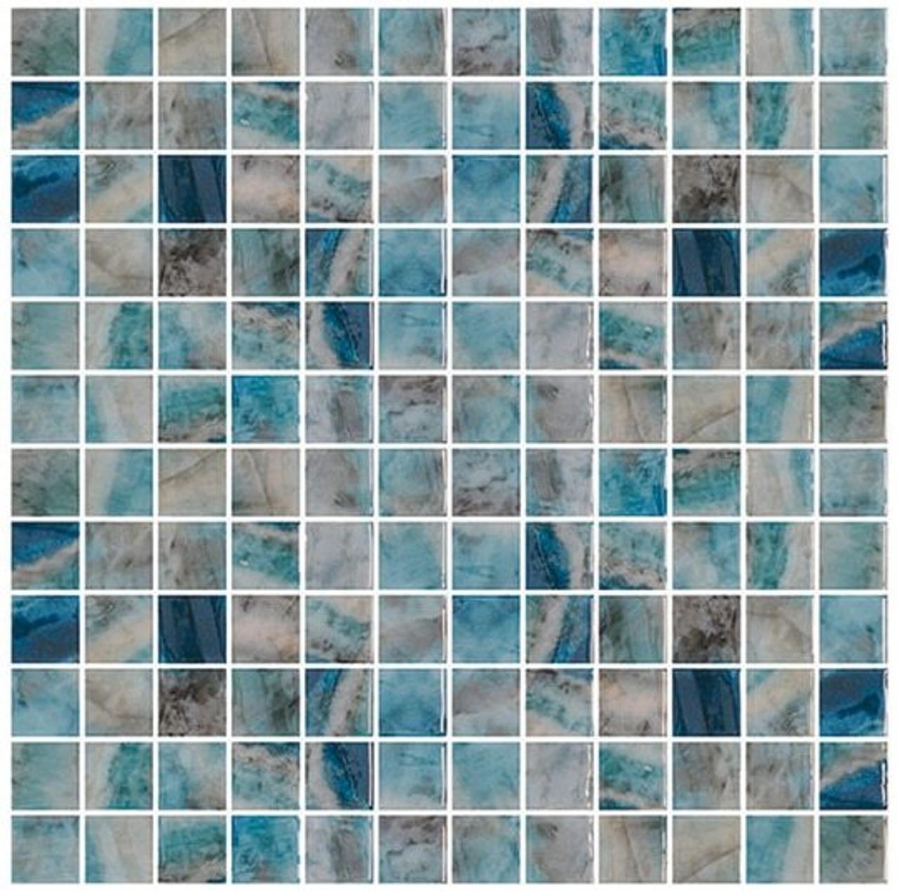 Bella Glass Tiles Del Spa Series Mikons Isle
