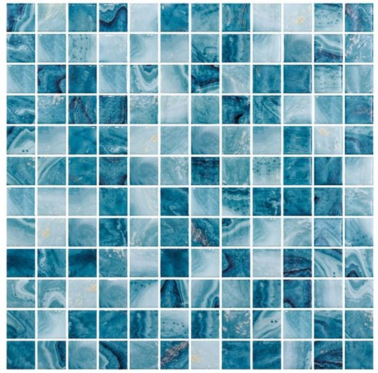 Bella Glass Tiles Del Spa Series Barrier Reef