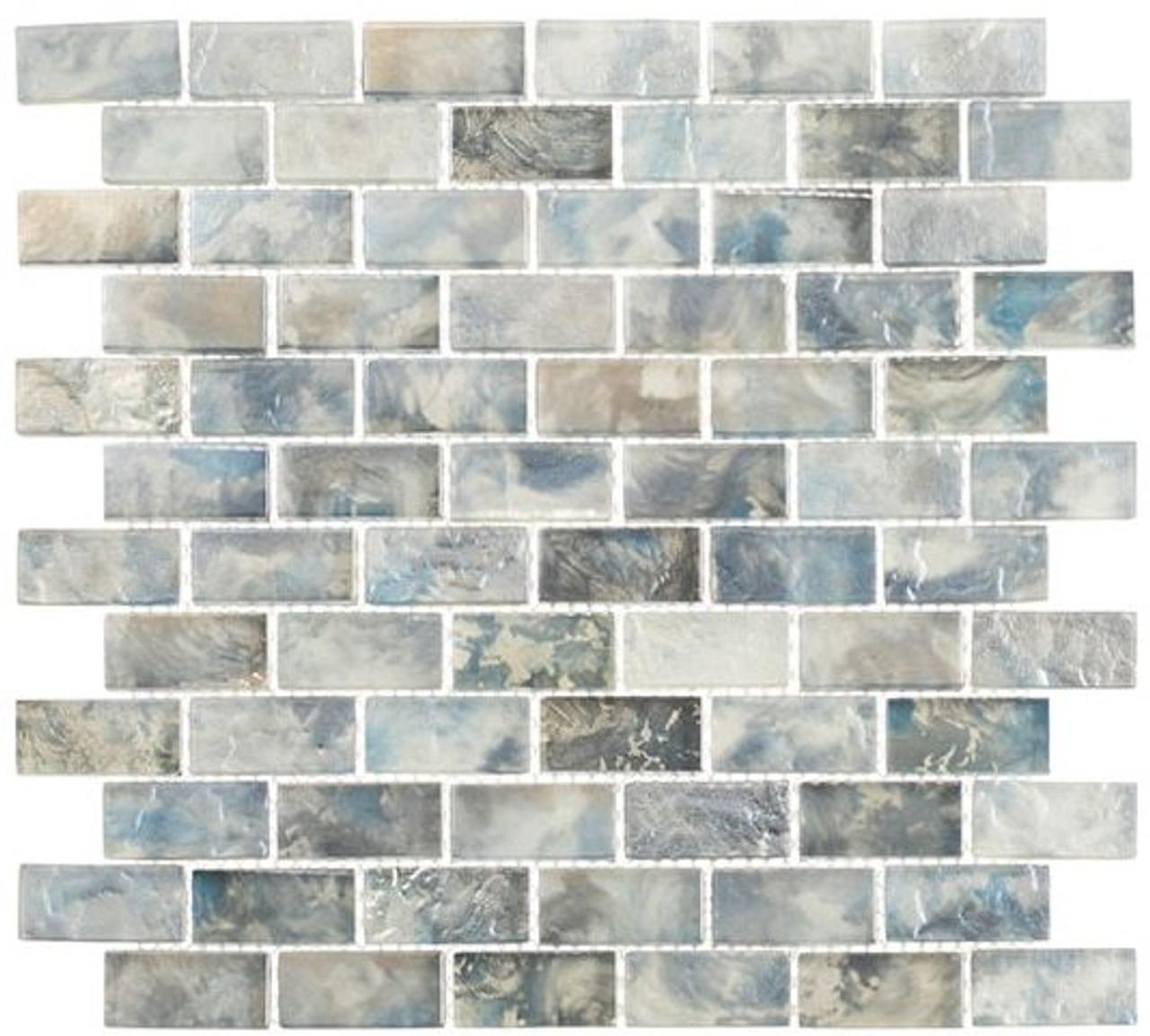 Bella Glass Tiles Mykonos Harbor Series Zeus Landing