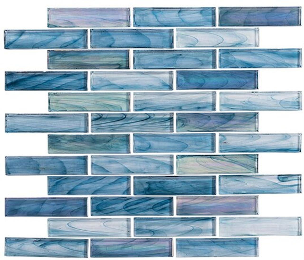 Bella Glass Tiles Oyster Cove Series Galapagos Deep OTC1201
