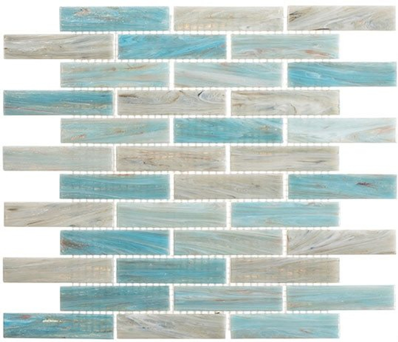 Bella Glass Tiles Oyster Cove Series Mellow Waters OTC1203