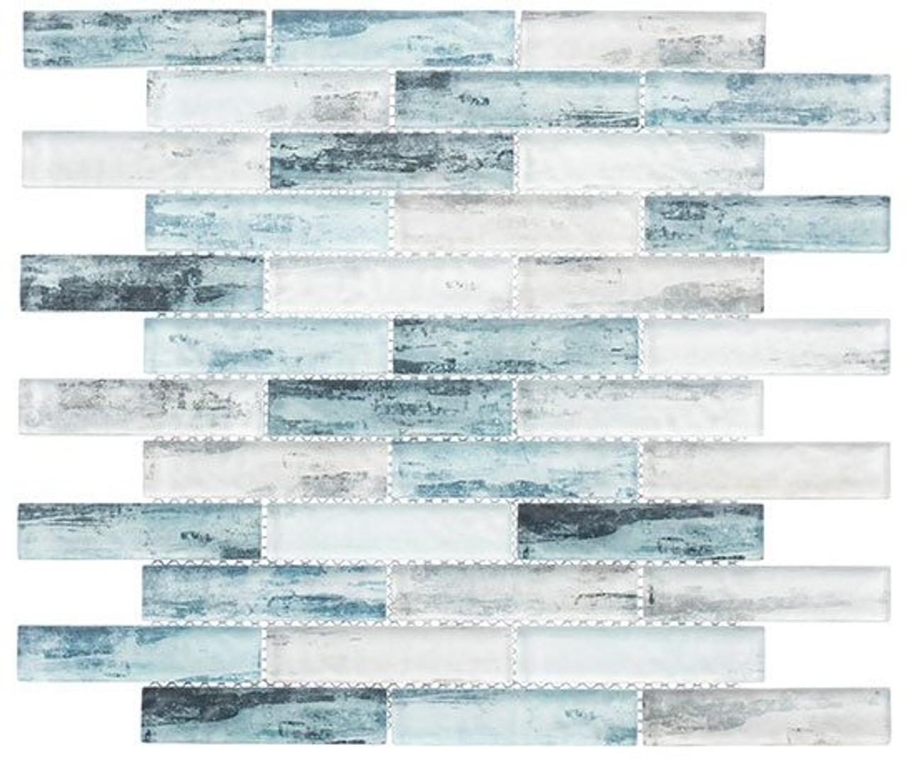 Bella Glass Tiles Metropolis Series MET764 Atlanna