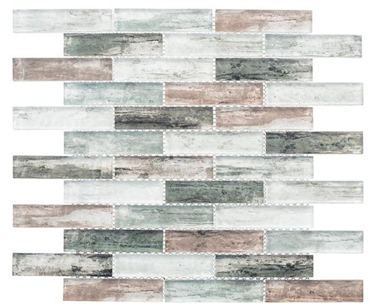 Bella Glass Tiles Metropolis Series MET765 Stark Premium