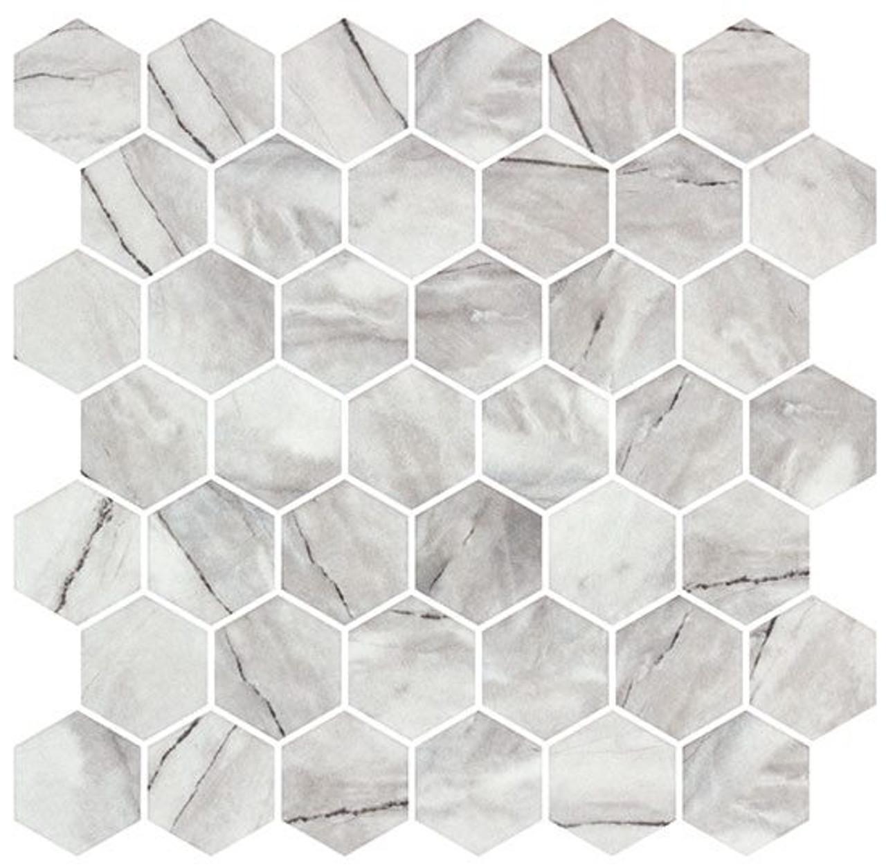 Bella Glass Tiles Mayan Garden Series MYN1301 Aztec Grey