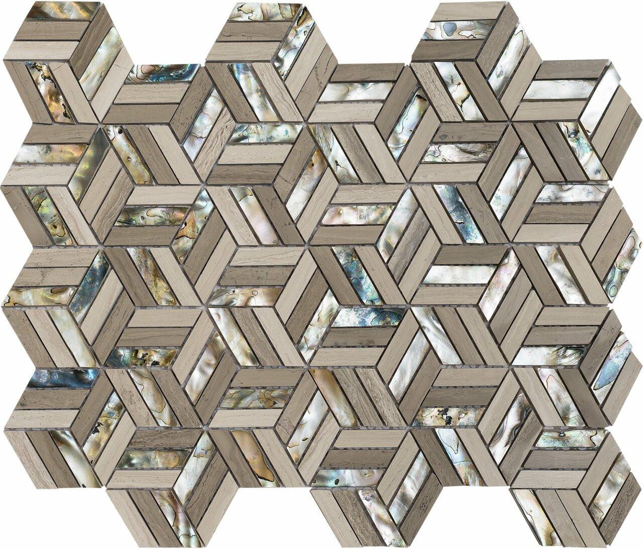 UBC North Shore Series Black Sand Beach Hexagon 540-536