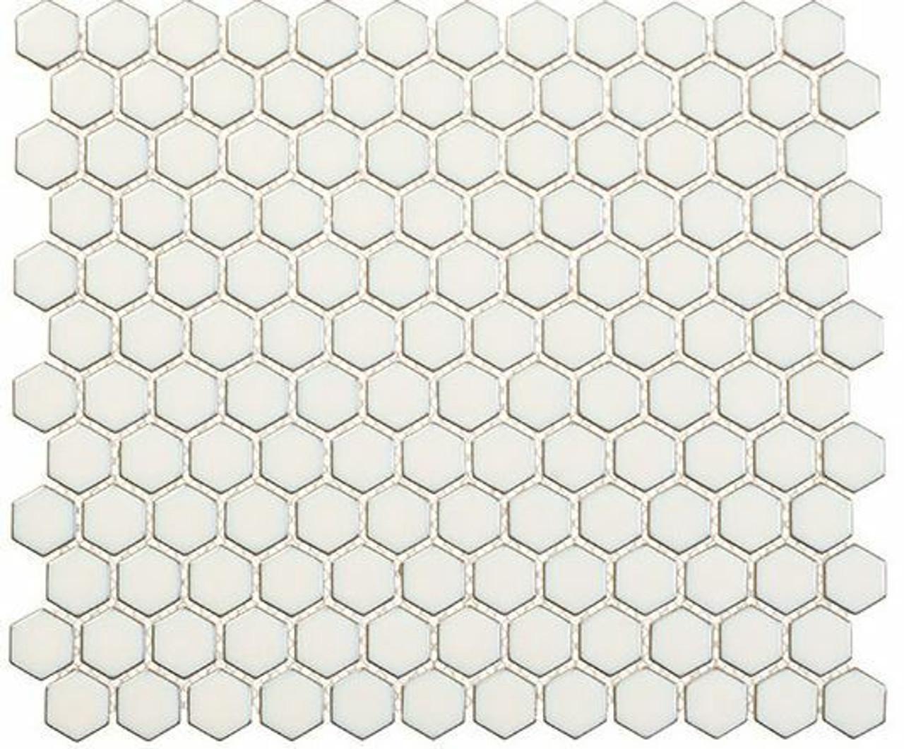 Bella Glass Tiles Effortless Series Hexagon Relaxation EFT8911