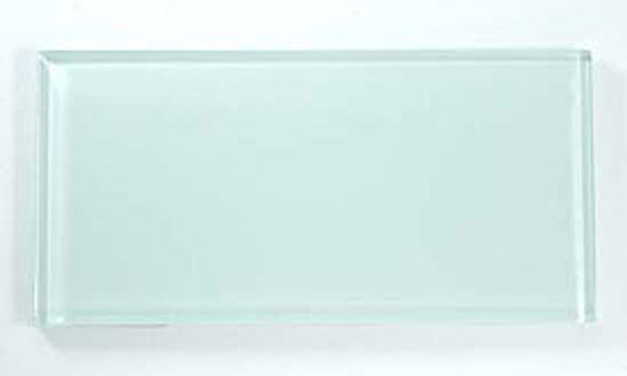 Bella Glass Tiles Crystile Series 3 x 6 Subway Ice Mist Glossy