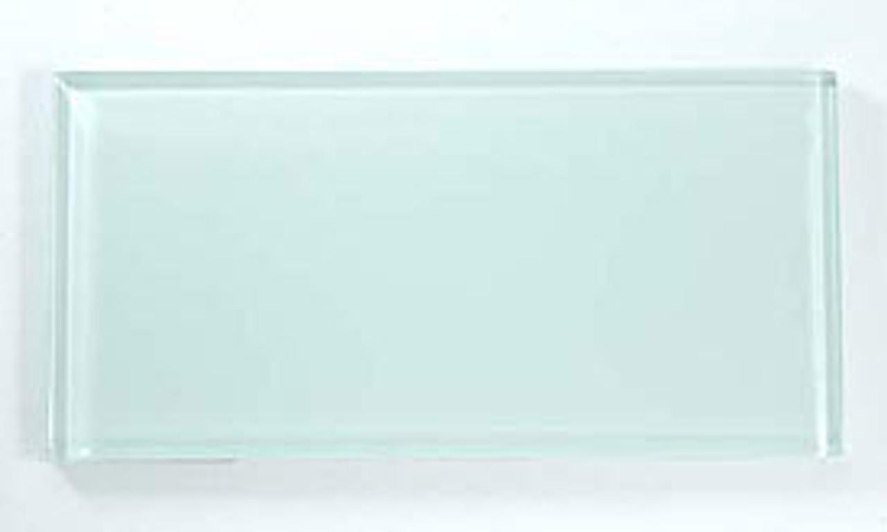 Bella Glass Tiles Crystile Series 3 x 6 Subway Ice Mist Glossy C01-1