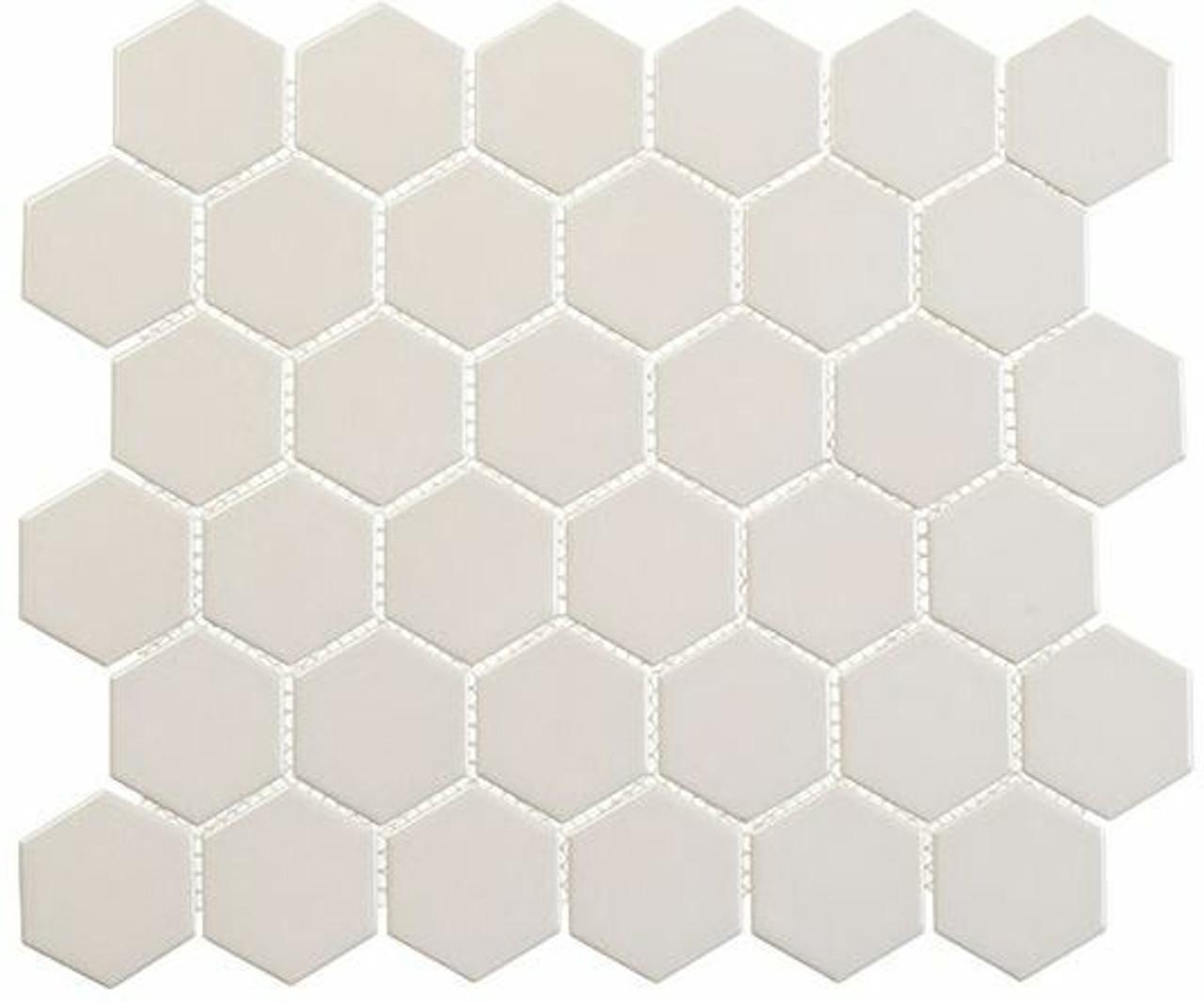 Bella Glass Tiles Freedom Avenue 2 inch Hexagon Empire Place FDM1822