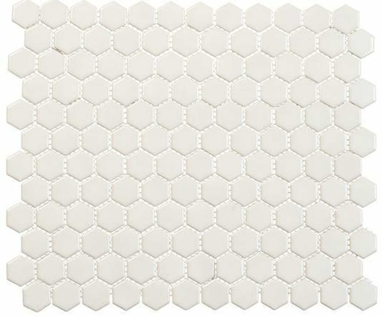 Bella Glass Tiles Freedom Avenue Hexagon Pillar Shine FDM1813