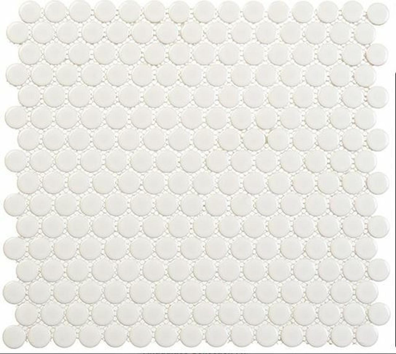 Bella Glass Tiles Freedom Avenue Penny Round Pillar Shine FDM1803