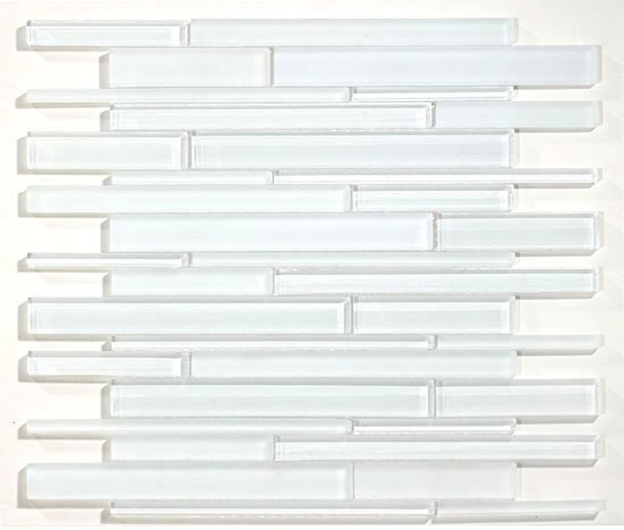 Bella Glass Tiles Cane Series Glass Tiles CN25 Super White