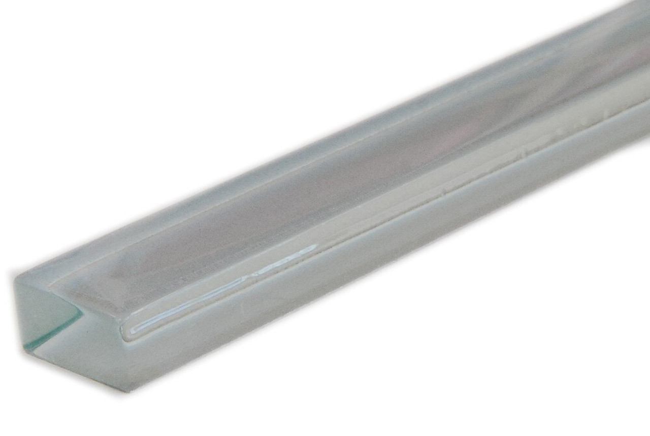 UBC Basic Collection 5/8 x 8 Glass Liner Whisper Gray