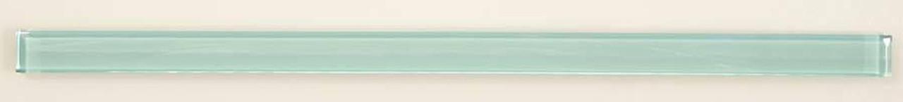 Bella Glass Tiles Crystile Glass Liner Bar Soft Mint