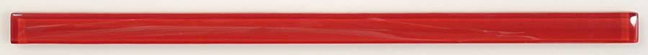Bella Glass Tiles Crystile Glass Liner Bar Ruby Red