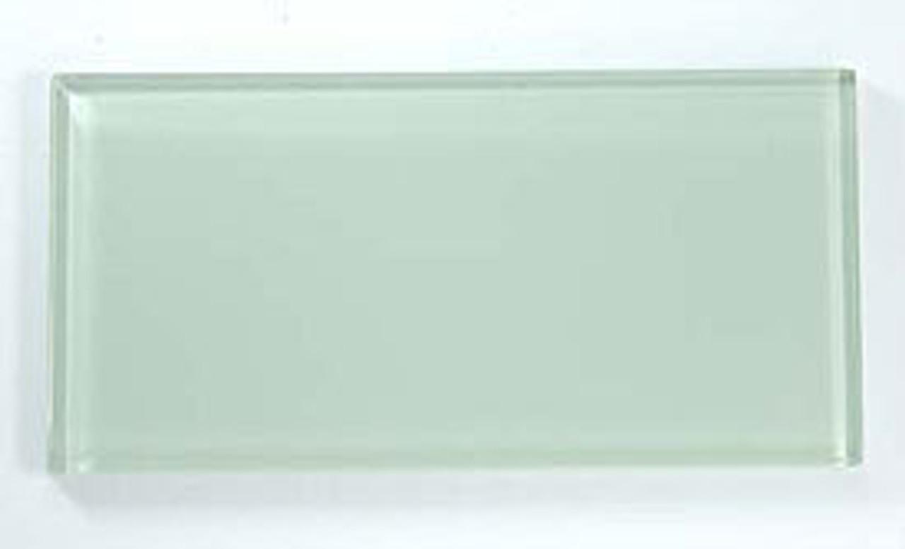 Bella Glass Tiles Crystile Series 3 x 6 Subway Ocean Spray