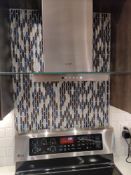 How to Install a Glass Tile Backsplash Mosaic